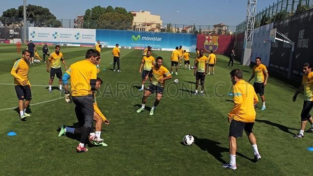 صور تدريبات برشلونة يوم الجمعة 03\05\2013 2013-05-03_ENTRENO_01-Optimized.v1367581675