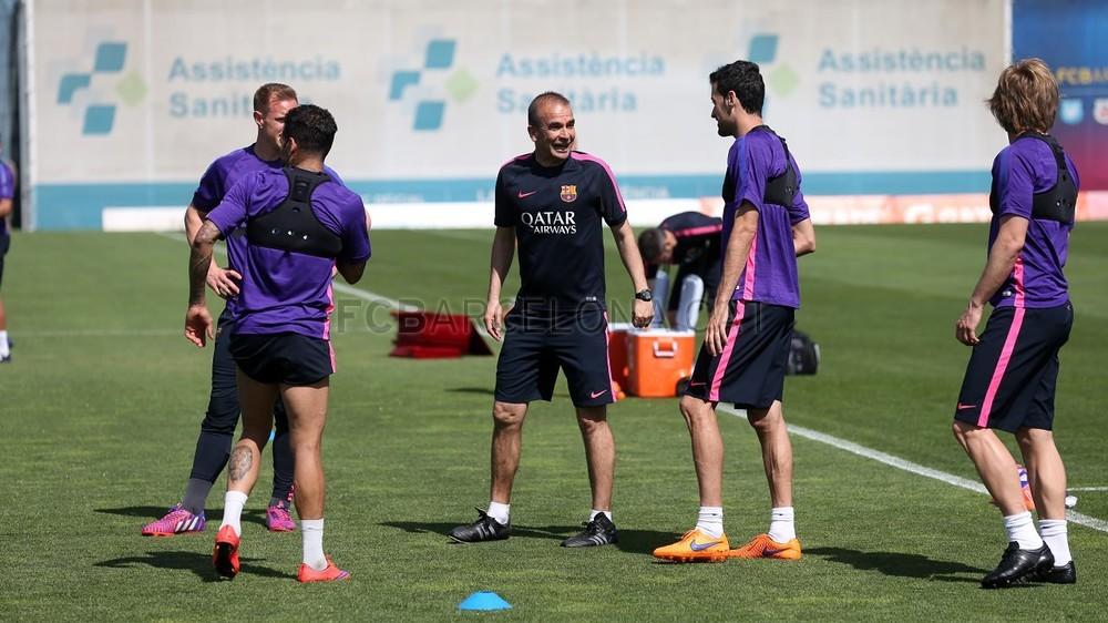 أجواء مرحة في تدريبات برشلونة غداة الفوز على البايرن Pic_2015-05-07_ENTRENO_12-Optimized.v1430996049