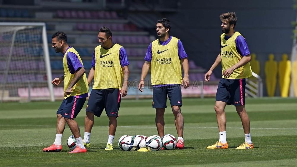 برشلونة يختتم تدريباته استعداداً لنهائي كأس الملك 2015-05-29_ENTRENO_39-Optimized.v1432897769