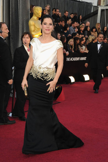 Oscar 2012 best dressed Sandra-Bullock-Pictures-Oscars-2012