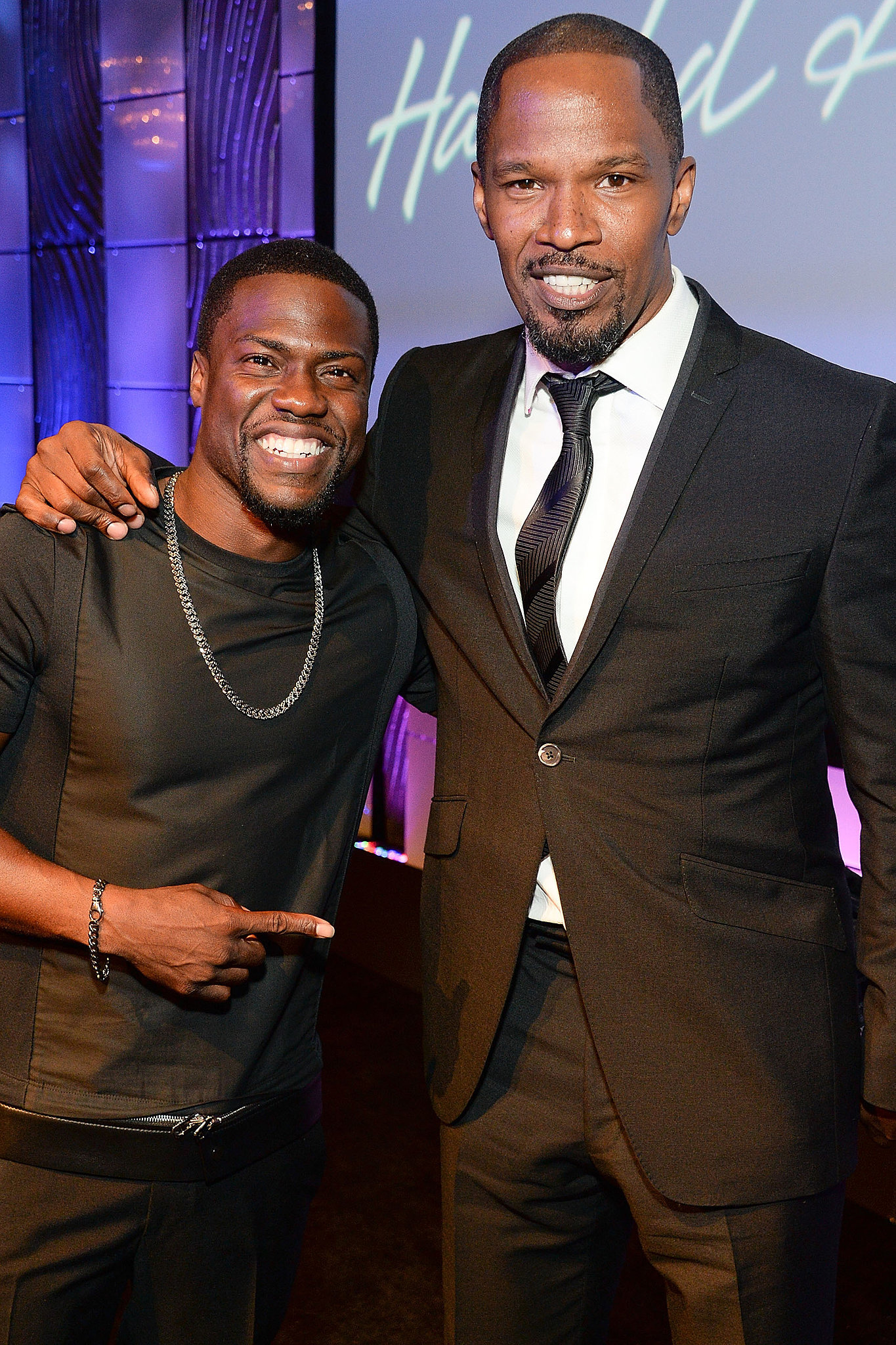 ¿Cuánto mide Kevin Hart? - Altura - Real height Kevin-Hart-Jamie-Foxx-joining-forces-Black-Phantom-about