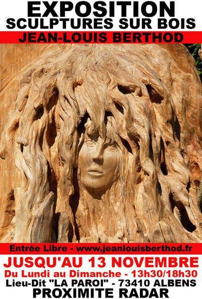 Exposition Bas-Reliefs & Sculptures sur Bois de JL BERTHOD 407028