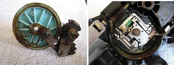 moteur arrière essui glace 132726