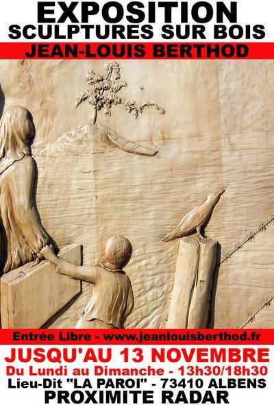 Exposition Bas-Reliefs & Sculptures sur Bois de JL BERTHOD 407029
