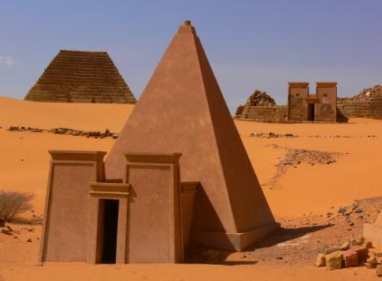 More Pyramids Than Egypt, How Many are Still Waiting for Discovery? Sudan-meroe-pyramid-reconstructed