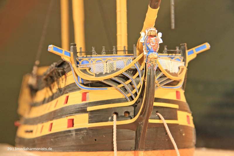 Le plastique c'est fantastique (HMS Victory) 800_Victory-view_5321