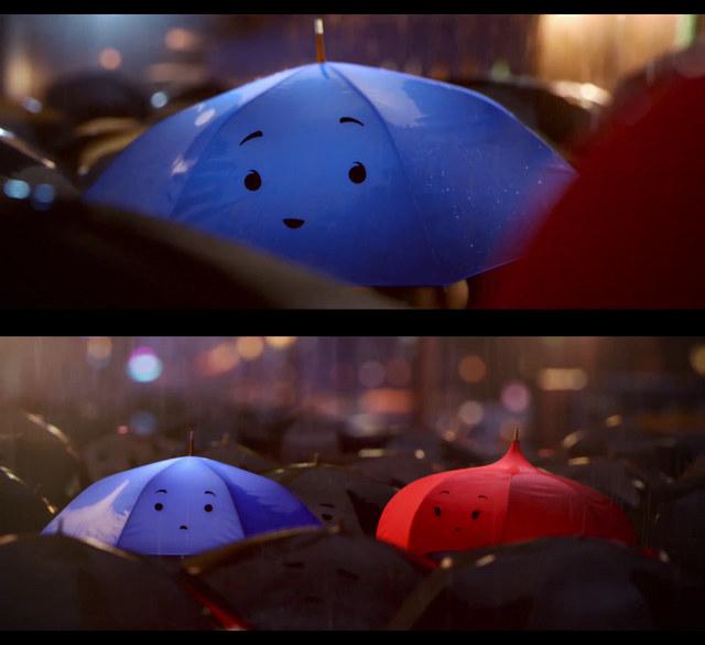 COM BACK SHORT PIXAR The-blue-umbrella