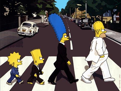 slike Simpsons-abbey-road