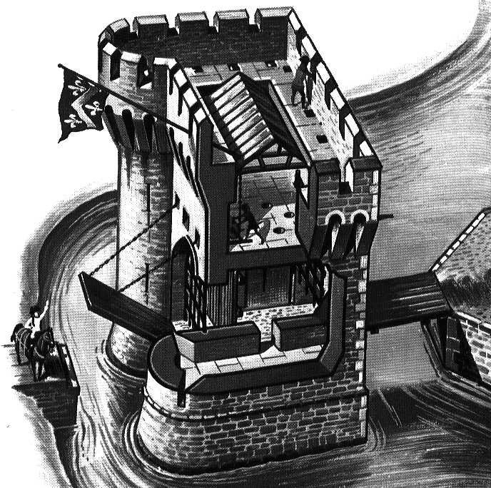 Les Chateaux Forts Barbacane