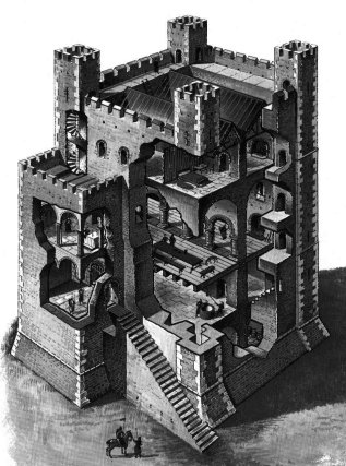Les Chateaux Forts Donjon