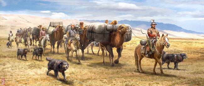 AAR PERISNO Medieval-caravan
