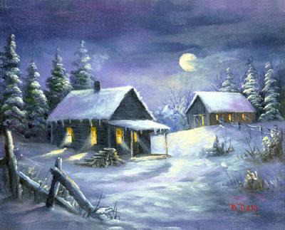 Spánok - spíte dobre? - Stránka 3 112_clear_winter_night