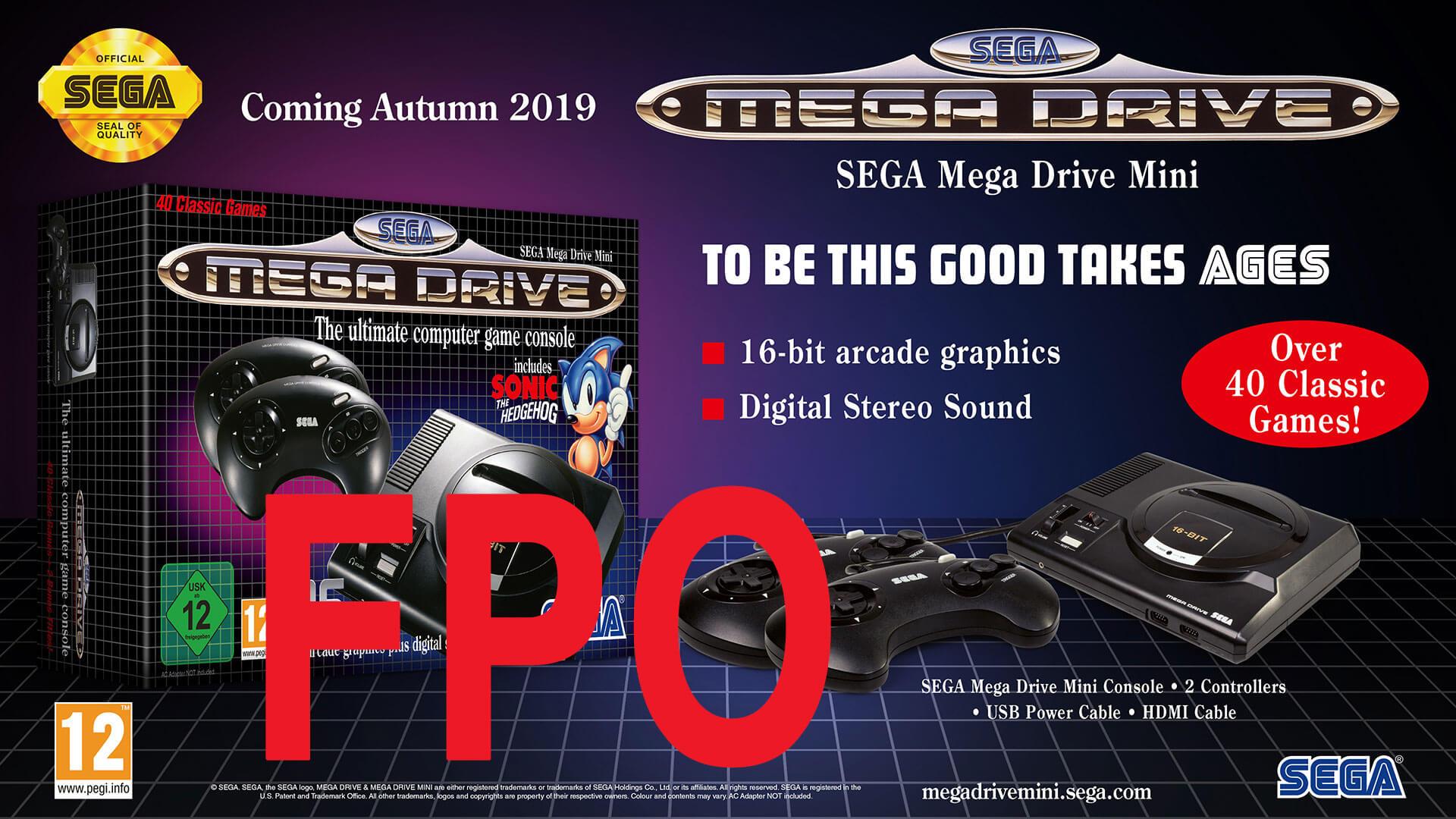 Mega Drive Mini chega dia 19 de Setembro de 2019 Glamshot_eu