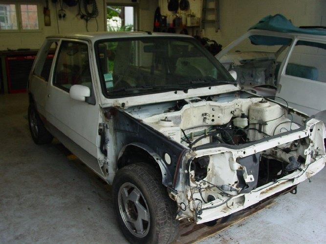 Resto / prepa de ma Super 5 GT Turbo AO - Page 2 DSC02580