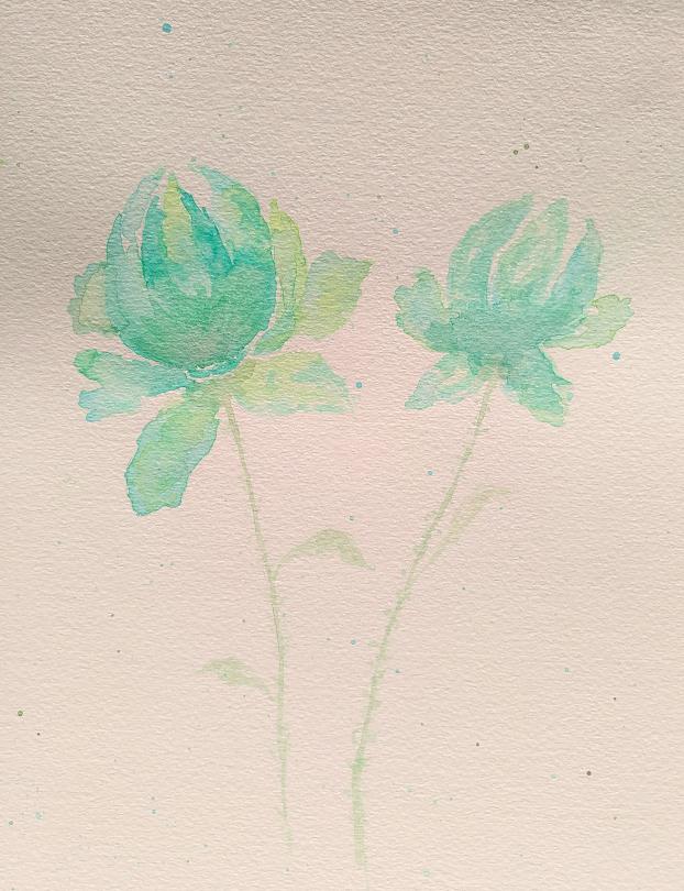 Mes cours de dessin Fleurvertaqua