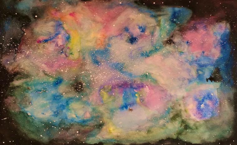 Mes cours de dessin Galaxie