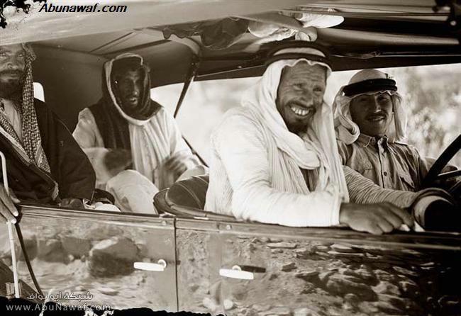 صور قديمة Arabs-Old-Car
