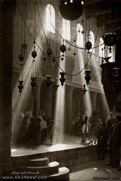 صور قديمة Bethlehem-Building