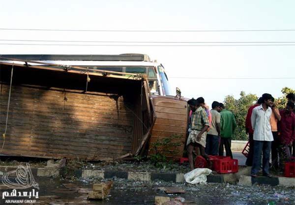 حادث سيارة عند الهنود ما صدقوا هجووووم W13