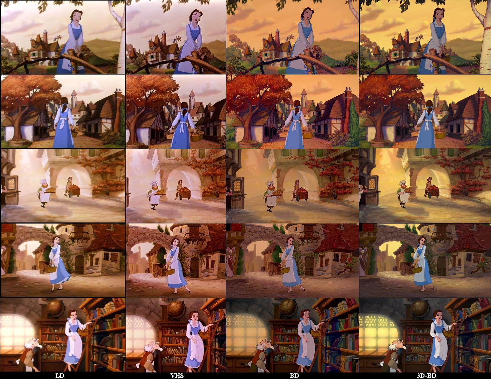 """Doublage et """"restauration"""" de l'image - Page 2 BatB_LD-VHS-3D-BD"""