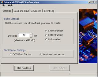 اجعل جهازك أسرع في الأداء والتصفح مع برنامج Dataram RAMDisk  Ramdisk-screenshot-lowres