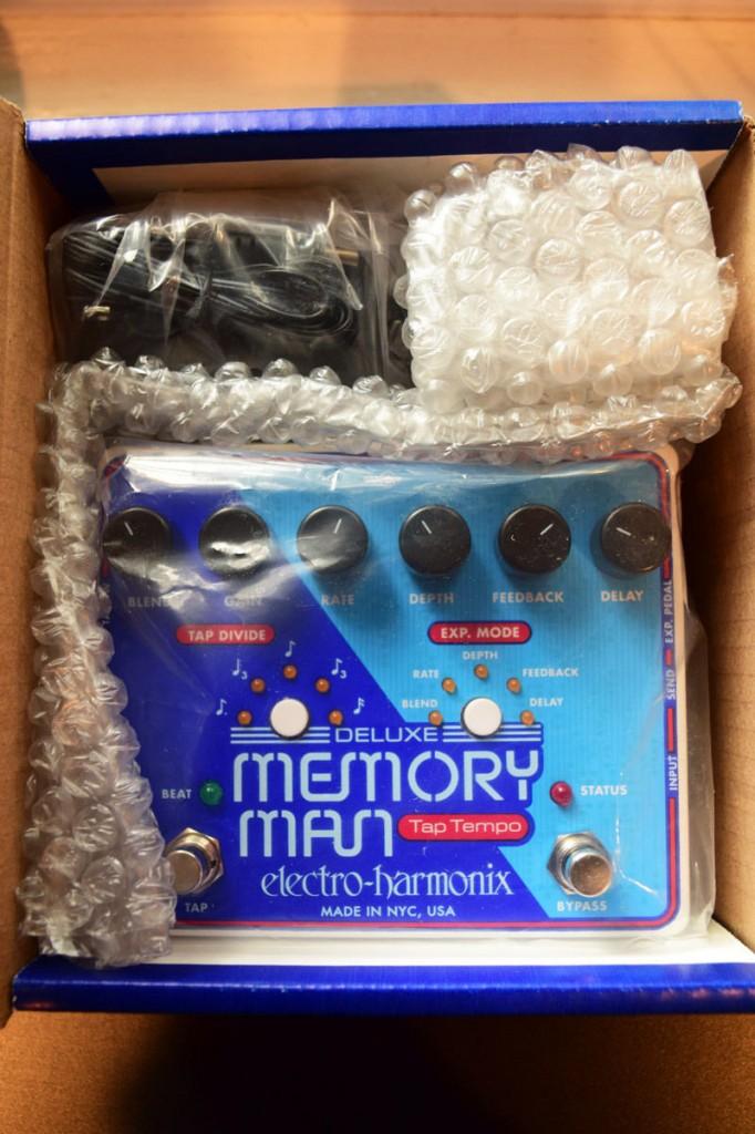 Vendo pedal EHX Memory Man Deluxe Tap Tempo 1100 1344455