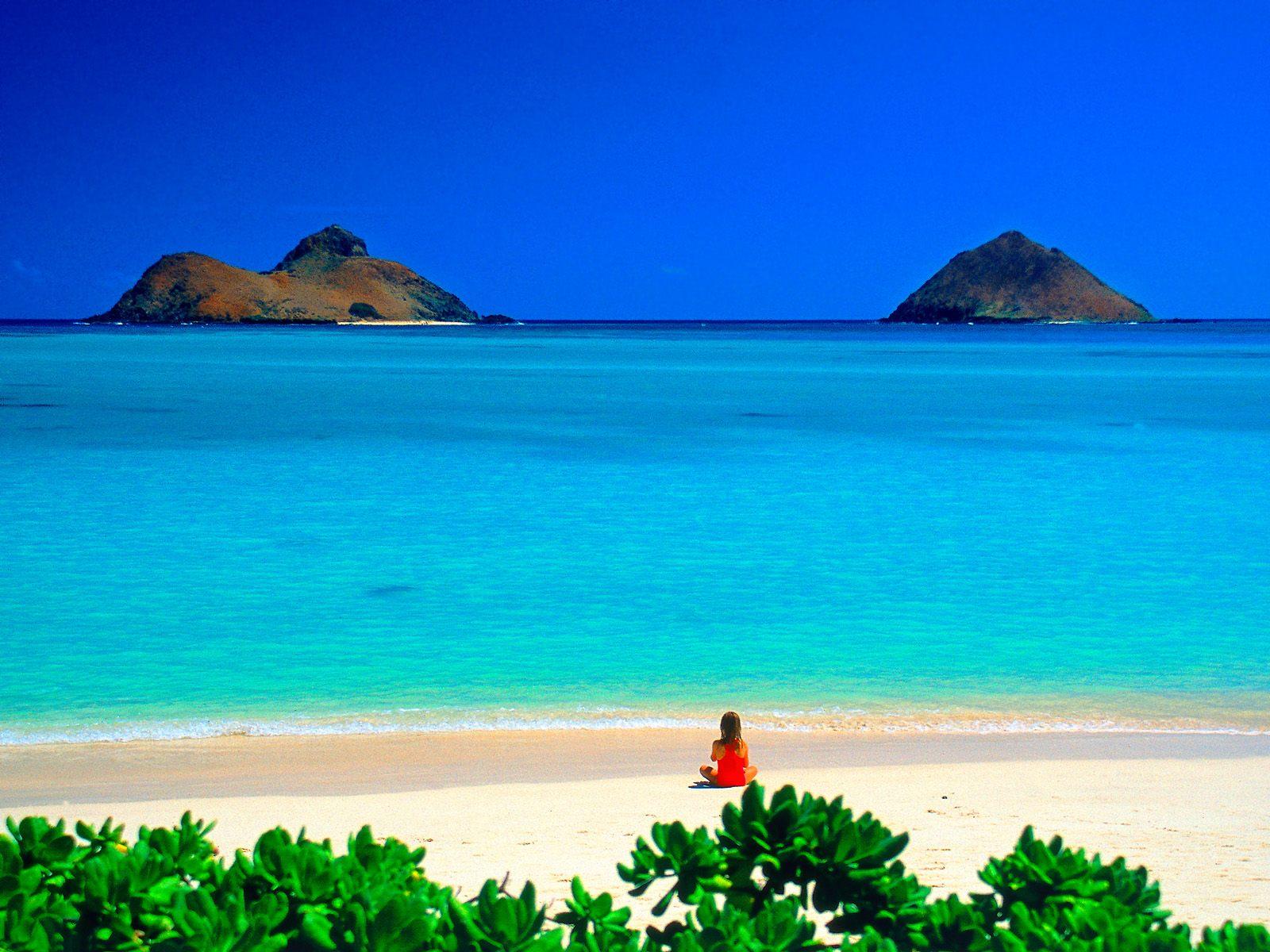 Me ane te nje fotoje tregoni se ku do te deshironit te ishit ne keto momente? Lanikai-beach-oahu-hawaii