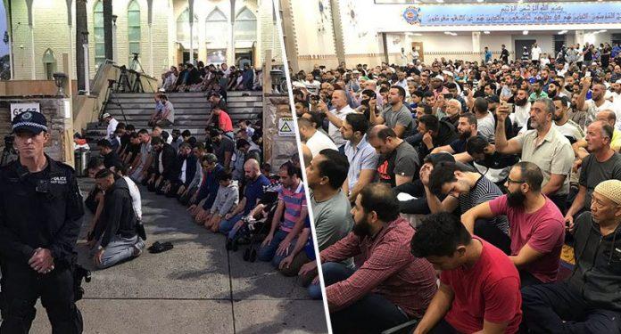 Lajmet Ditore:Mijëra australian nga besime të ndryshme mblidhen për të ndarë dhimbjen Muslim_prayer-696x375