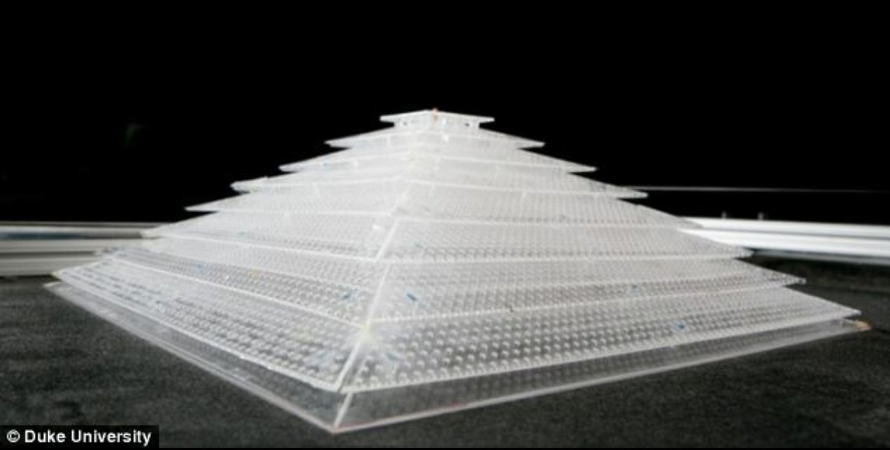 New Cloaking Device Uses a Pyramiding Structure!? Plasticsoundpyram01