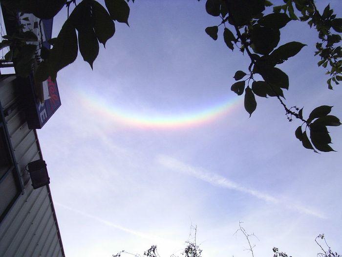 ¿Has visto alguna vez un arcoiris invertido? Se llama arco Circumzenithal 389966-2472