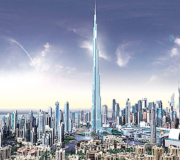 Neboderi Dubai