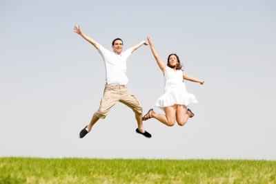 Pozitivan pogled na život pomaže da ostanemo zdravi Sreca_proljece_free
