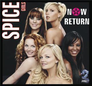 """Spice Girls - Now Return """"isso elas estão de volta&quot SpiceGirls"""