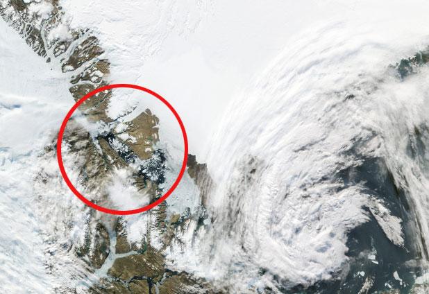 Un iceberg el doble de grande que Manhattan se desprende en Groenlandia 23027_1124929