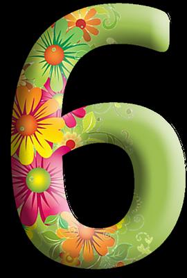 "Chiffres ""Fleurs"" 36c5b564"