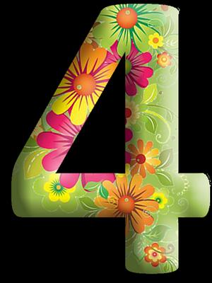 """Chiffres """"Fleurs"""" 5f443d6e"""