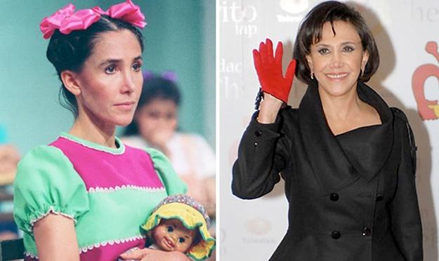 """chavo - Antes y después de los personajes de """"El Chavo del 8""""(fotos) El-chavo-del-8-florinda-meza-2"""