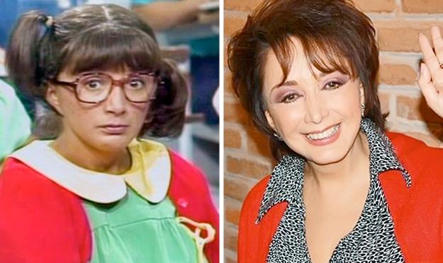 """chavo - Antes y después de los personajes de """"El Chavo del 8""""(fotos) El-chavo-del-8-maria-antonieta"""