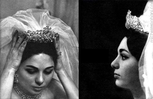 Royalties of the World - Page 9 Farah-diba-pahlavi-micheleroohani-crown-bride-tiara