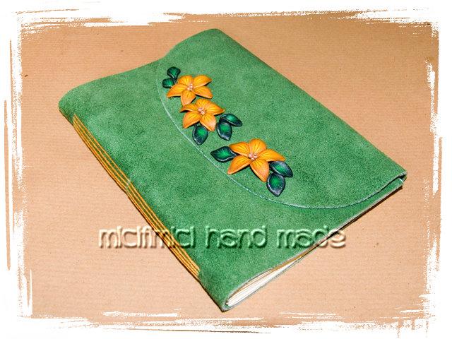 Quaderni rilegati a mano Quaderni-pelle-verdi-6