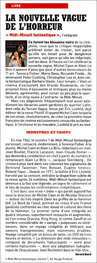 Midi-Minuit Fantastique - L'Intégrale (Nicolas Stanzick, Michel Caen - Rouge Profond, 2014) Charlie-Hebdo-19-f%C3%A9vrier-2014-MMF-vol.1-378x1024