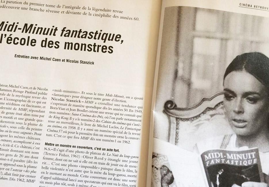 Midi-Minuit Fantastique - L'Intégrale (Nicolas Stanzick, Michel Caen - Rouge Profond, 2014) Cahiers-du-cin%C3%A9ma-photo1