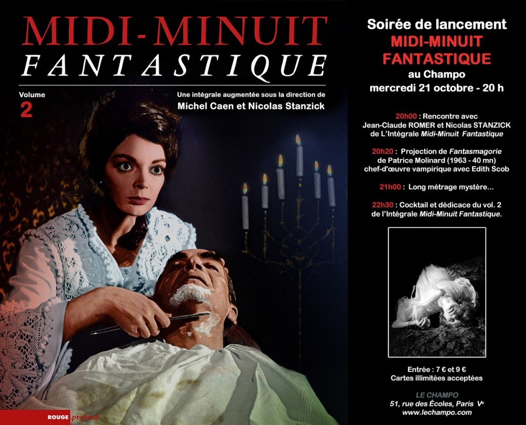 Midi-Minuit Fantastique - L'Intégrale (Nicolas Stanzick, Michel Caen - Rouge Profond, 2014) Soir%C3%A9e-Champo-300dpi-1024x826