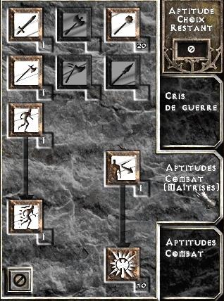 [guide] le barbare IK [maj] Maitrises