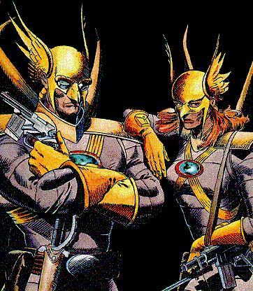 Quiproquo Thanagarien (P.V. Martian Manhunter et Space Ranger) Thanagarians