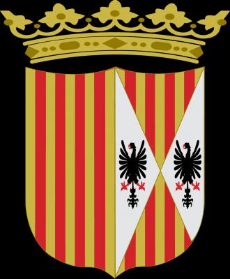 1 Tari de Fernando el Católico, rey de Sicilia. Messina, 1479 - 1516. 20100323204434-escudo-corona-de-aragon-y-sicilia