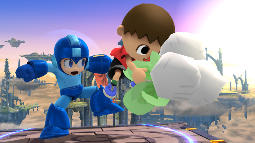 Super Smash Bros. for 3DS demo first impressions Super-smash-bros-for-wii-u-villagers-turnips