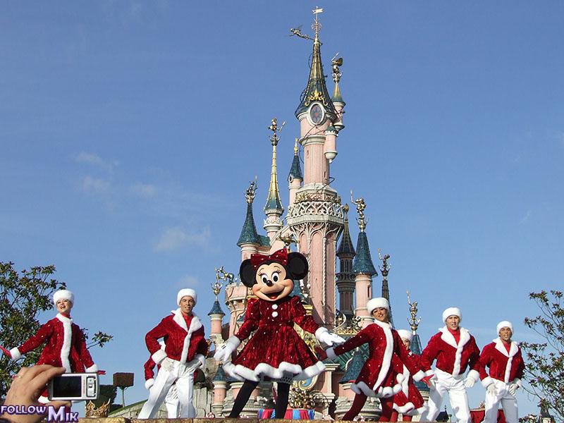 Les saisons de Noël au parcs a travers les années depuis 1992 ! ^^ 2007
