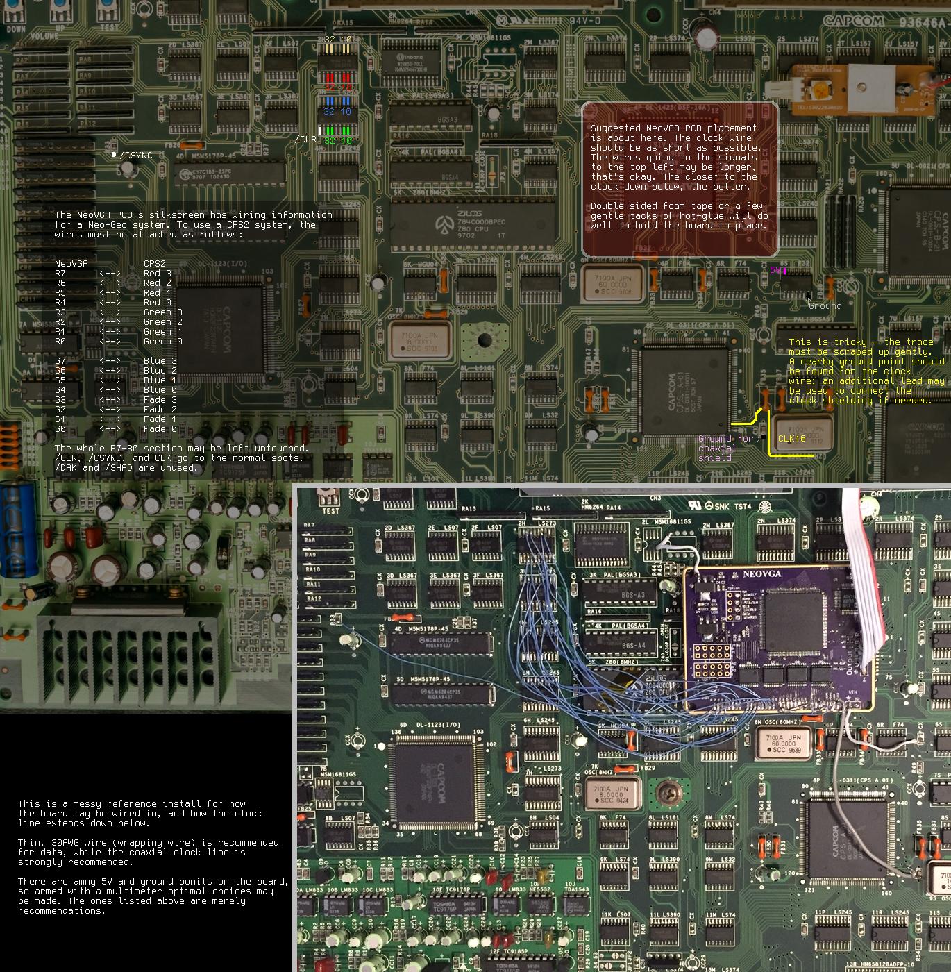 Convertisseur CGA —> VGA : des suggestions ? CPS2