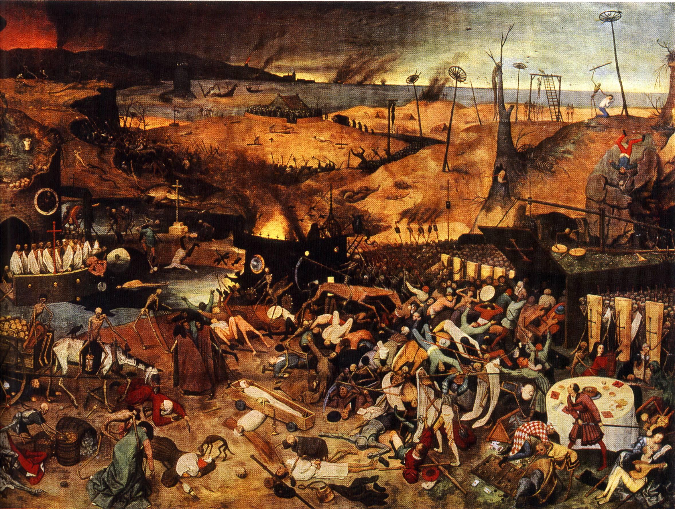 Αγαπημένα Έργα Τέχνης Bruegel-triumph-of-death-supersize